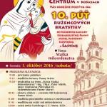 Pozvánka na 10. Púť Ružencových bratstiev do Šaštína