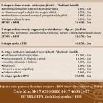 Rozpočet na organ v Dunajskej Lužnej