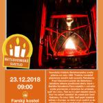 Betlehemské svetlo 2018