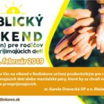 Biblický víkend 2019