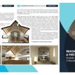 Informačný leták o rozšírení Filiálneho kostola v Rovinke