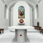 Pozvanie na hodovú slávnosť do kostola Najsvätejšej Trojice v Rovinke