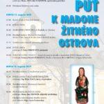 Pozvánka na púť k Madone Žitného ostrova 2020